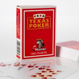 Modiano texas Poker 100% Plastic playing cards