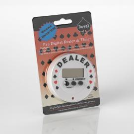 Pro Digital Dealer Poker Timer and Dealer Button
