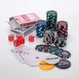 500pcs Poker Set 13.5G Pro Poker  5 colours
