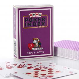 Modiano Poker Peek Index 100% Plastic playing cards