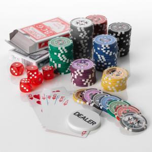 1000pcs Poker set 15G ULTIMATE 7 Colours