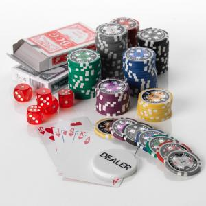 500pcs Poker set 15G SP Poker Club 7 Colours Low or High Values