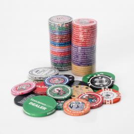 Fully Customisable Poker Chips