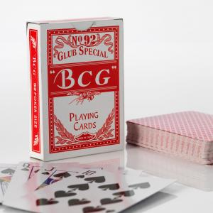 BCG Wide Poker Cards